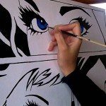 comic drawing painting