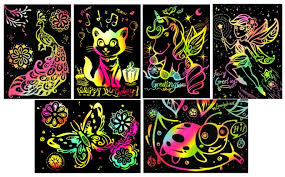 SCRATCH ART KIDS