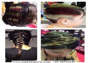 Hair Highlighting and Hair Braiding