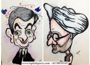 Exaggerated Caricature