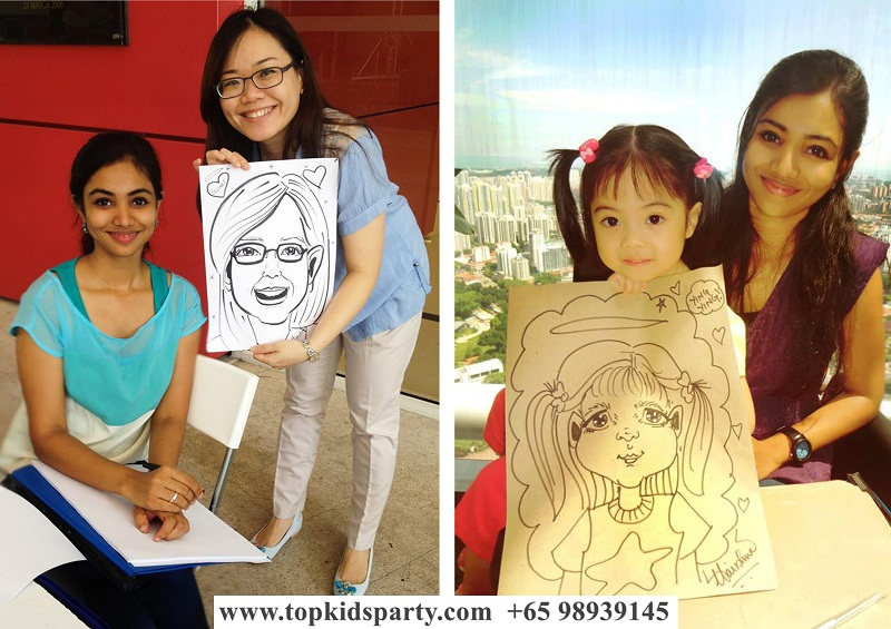 Caricature Drawing for Kids