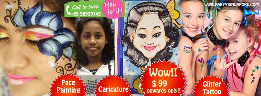 Face Painting and Caricature